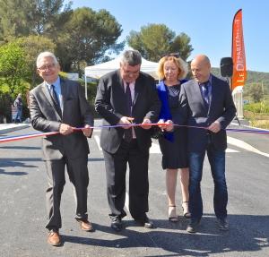 Inauguration du pont du Batailler reconstruit !
