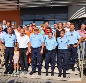 Les gendarmes remerciés pour leur action lors de l'incendie