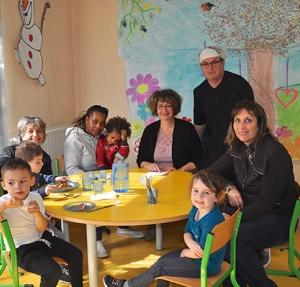 Les familles invitées à la maternelle
