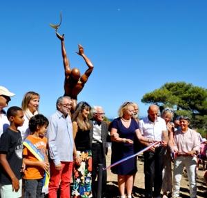 Inauguration de la première boucle du parcours Souffle d'art