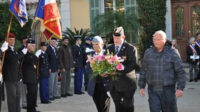 Hommage aux combattants morts pour la France