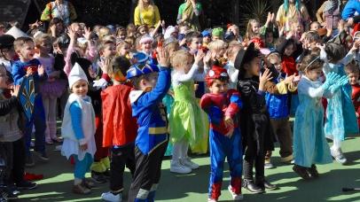 Carnaval fêté à la maternelle