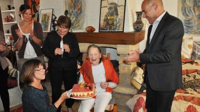 Paulette Chaylat fête ses 105 ans