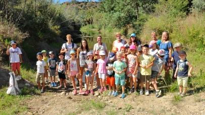 Découverte de la nature pour les petits vacanciers
