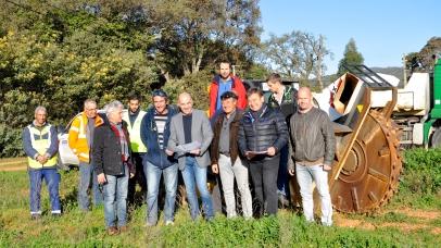 Le projet des jardins familiaux sort de terre !