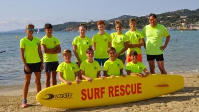De jeunes stagiaires veulent devenir sauveteurs en mer
