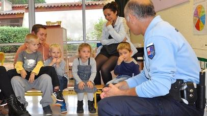 Prévention sur la sécurité à l'école maternelle